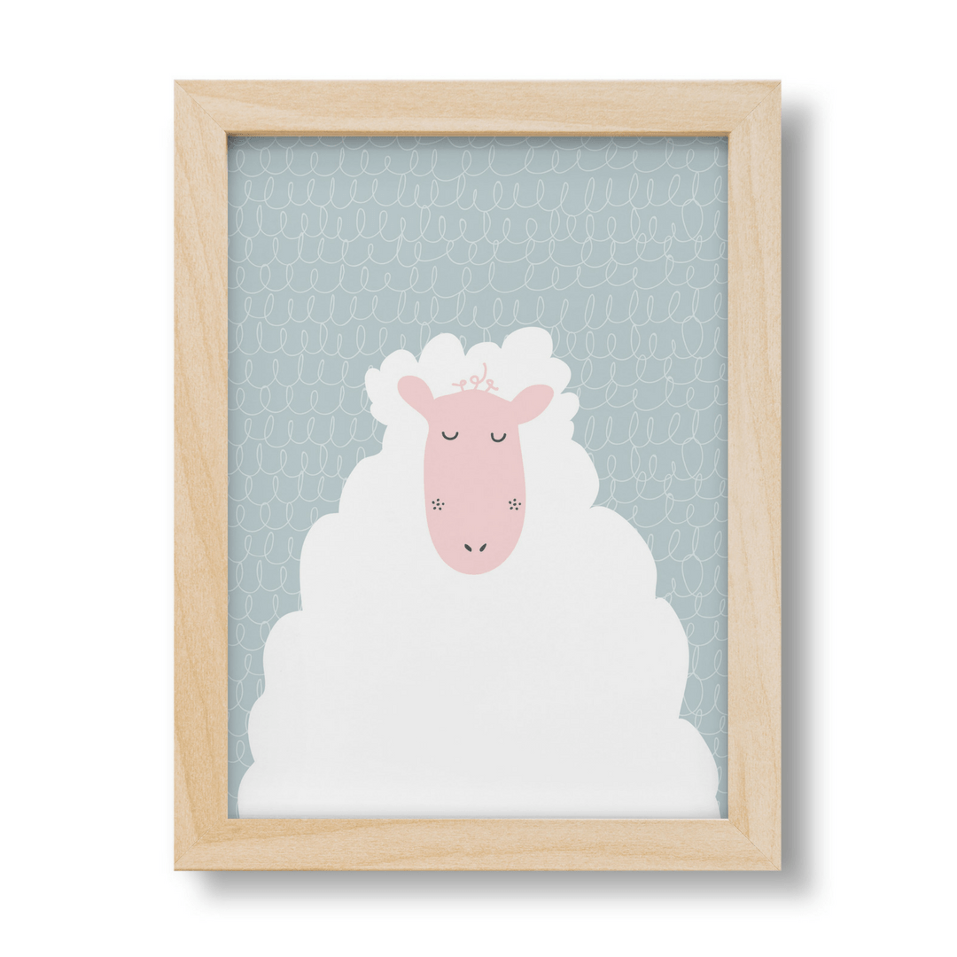 Melissa the Sheep Print - Project Nursery