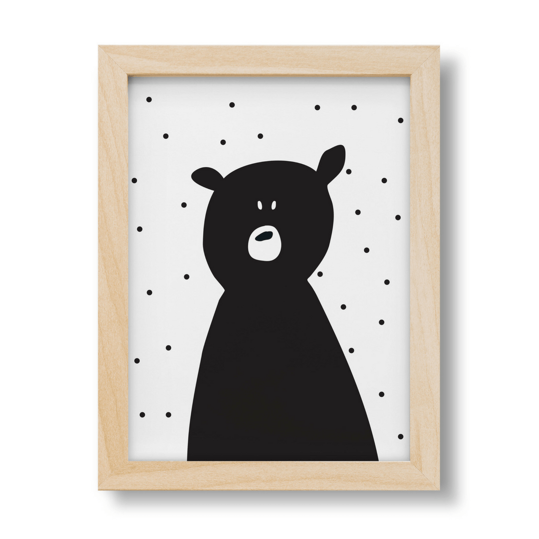 Poli the Polar Bear Print - Project Nursery