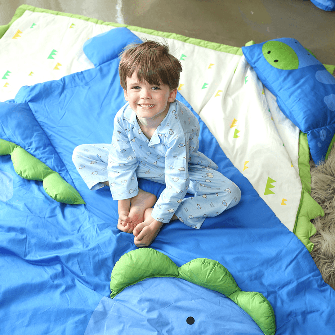 Dylan Dinosaur 3D Toddler Blanket - Project Nursery