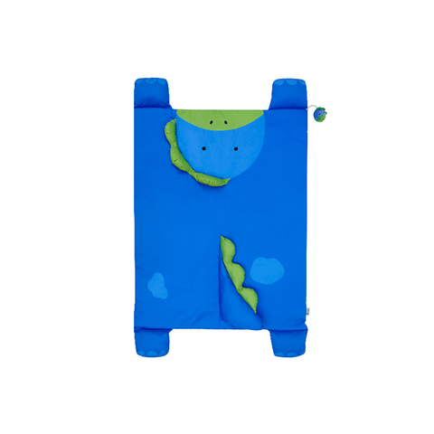 Toddler Bed in a Bag in Blue Fluro Stars