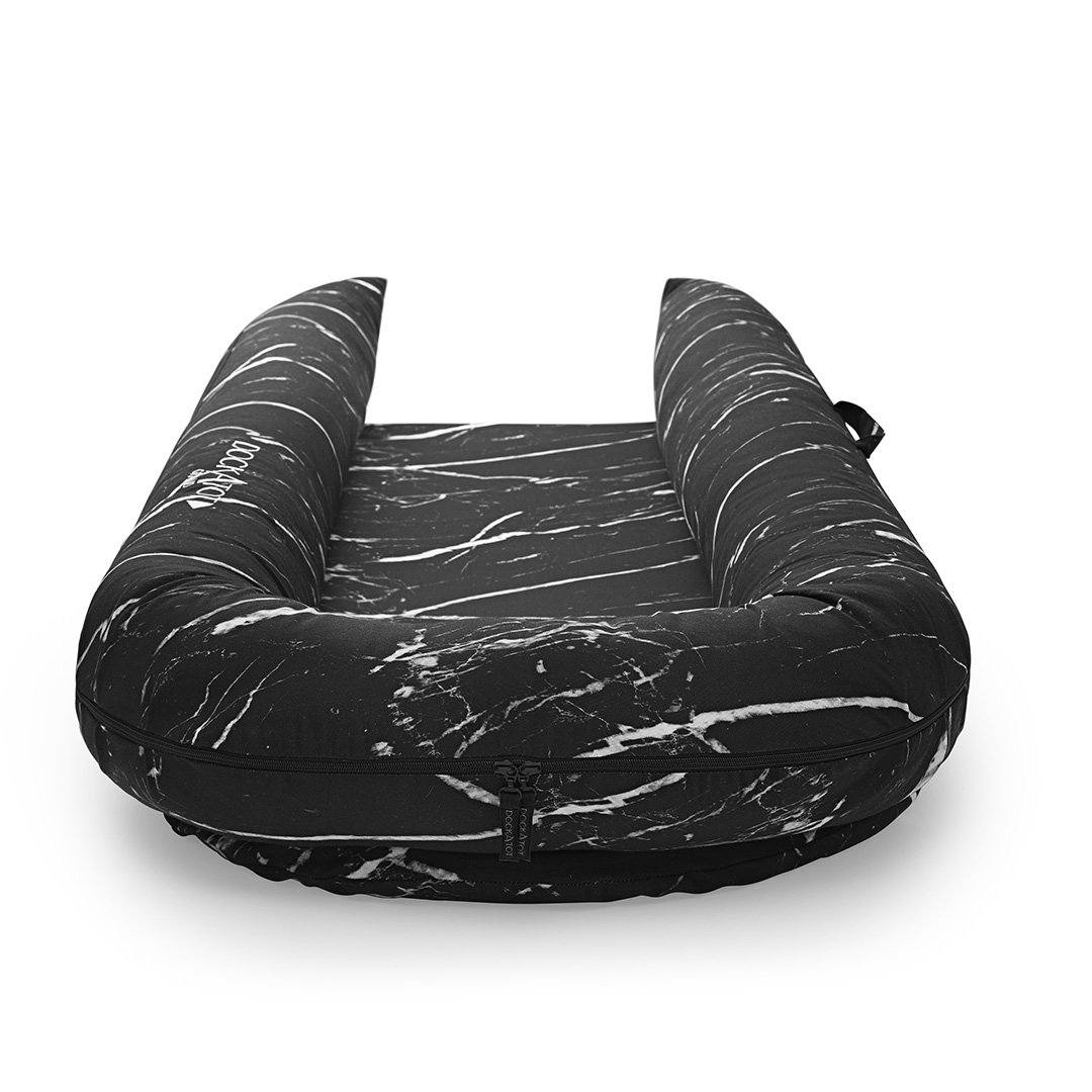 DockATot Grand Dock Cover - Black Marble - Project Nursery