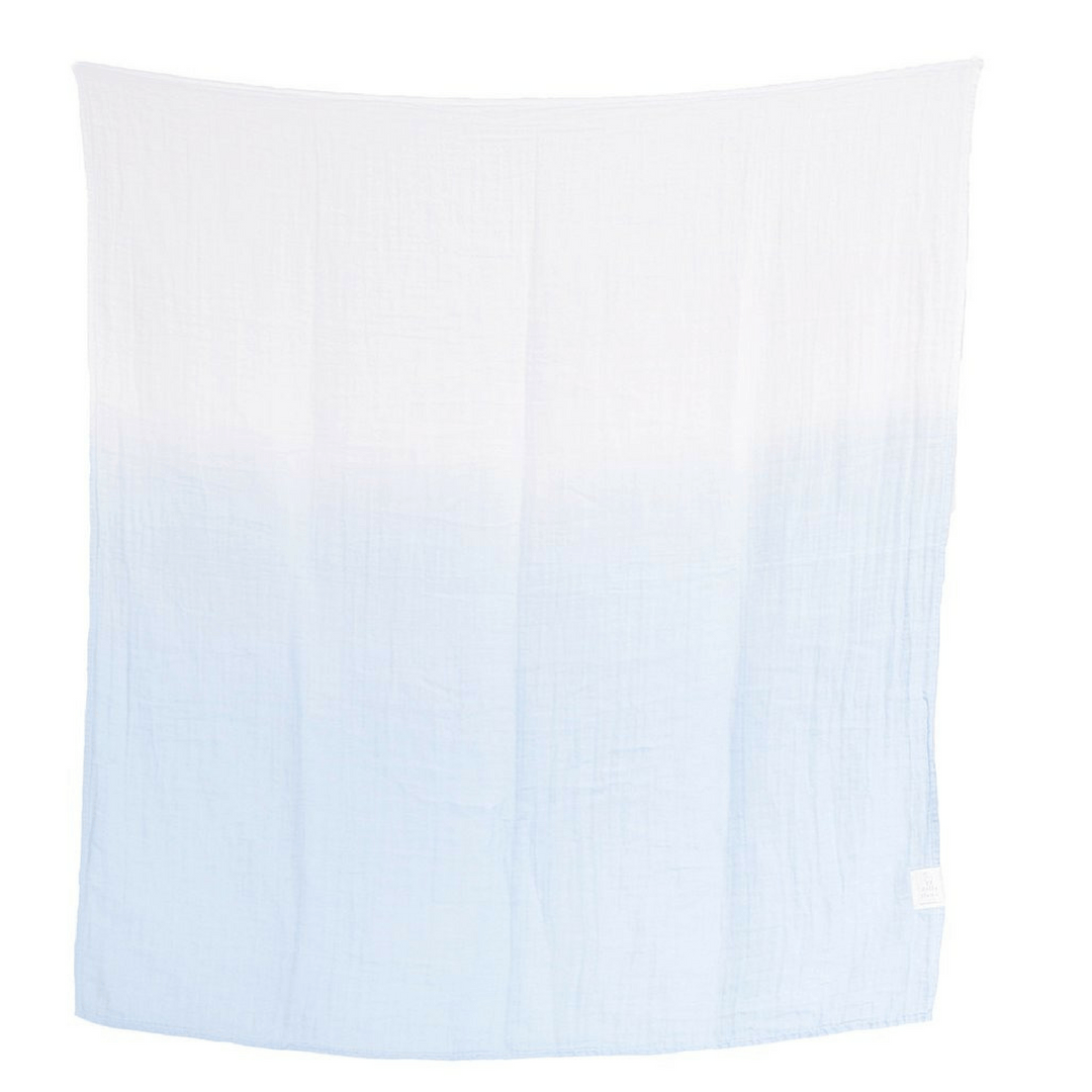 Sky - Organic Swaddle Blanket - Project Nursery