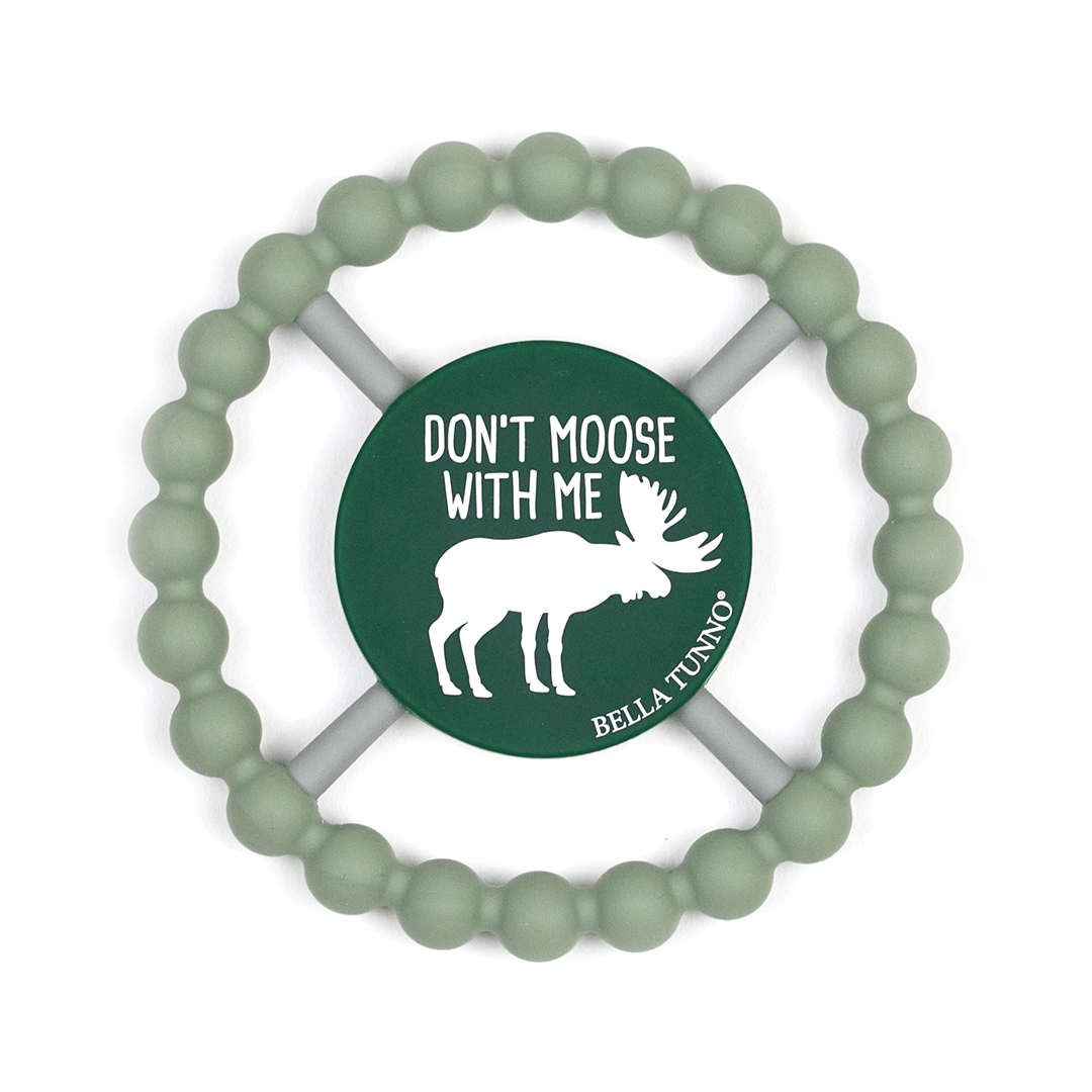 Don't Moose with Me Happy Teether - Project Nursery