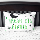 Personalized Dream Big Pillowcase