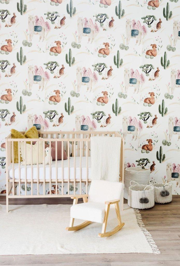 Alpaca Wallpaper - Project Nursery