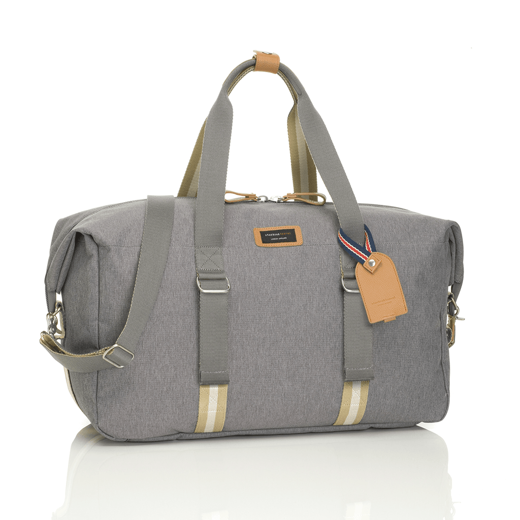 Travel Duffle Bag Grey - The Project Nursery Shop - 8