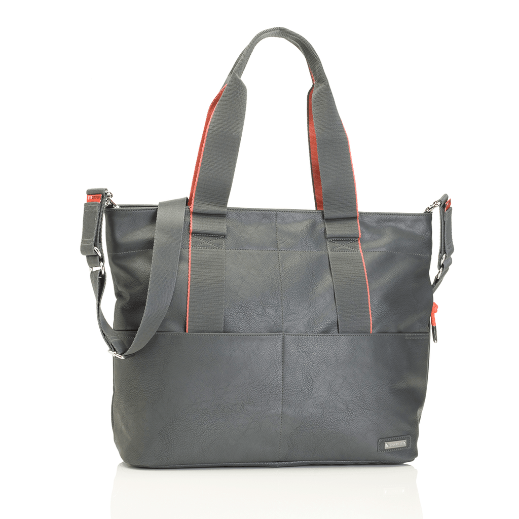 Eden Diaper Bag Grey - The Project Nursery Shop - 8