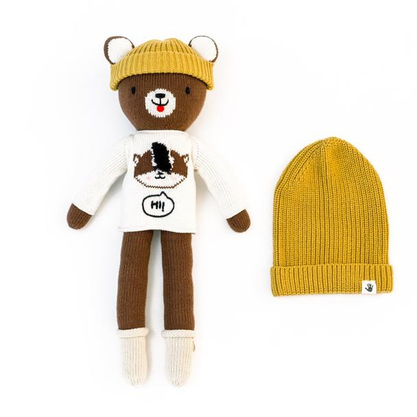 Mr. Beary + Beanie Set - Project Nursery