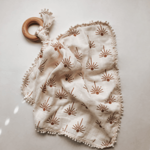 Light Terazzo Swaddle Blanket