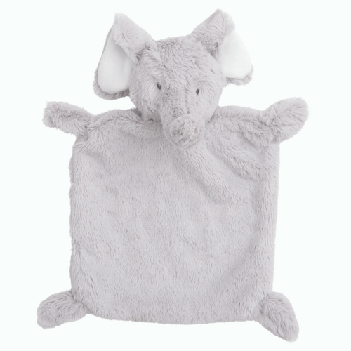 Grey Elephant Security Blankie - Project Nursery