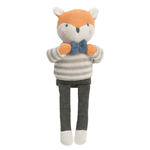 Fox Knittie Bittie Toy - Project Nursery