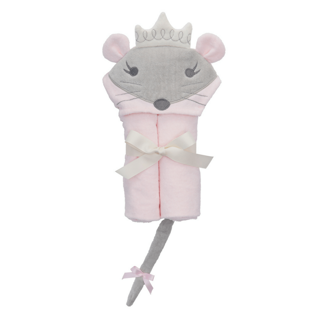 Mousie Princess Bath Wrap - Project Nursery