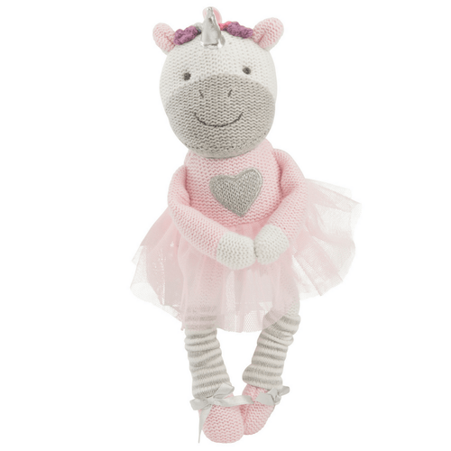 Unicorn Knittie Bittie Toy - Project Nursery