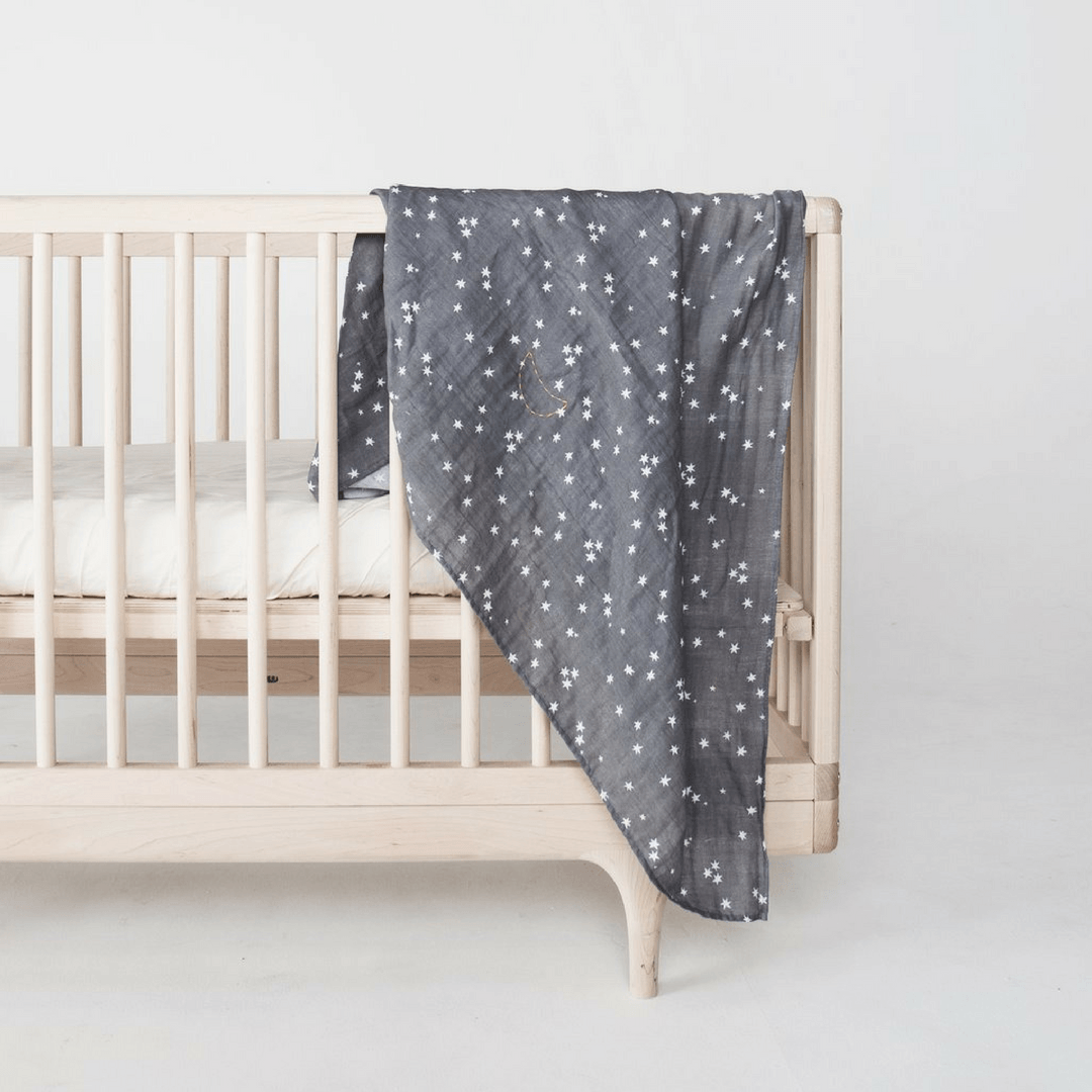 Stardust Print Swaddle - Project Nursery