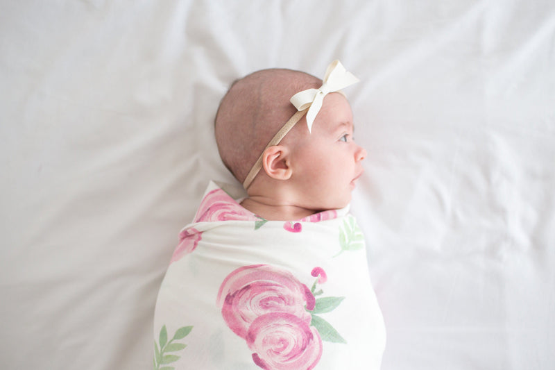 Grace Knit Swaddle Blanket - Project Nursery