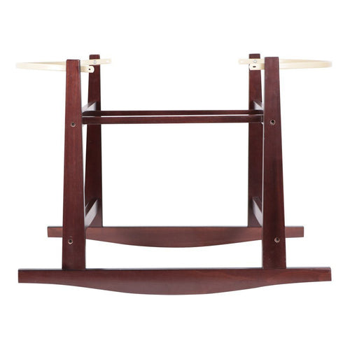 Design Dua Rocking Bassinet Stand - Espresso Wood - Project Nursery