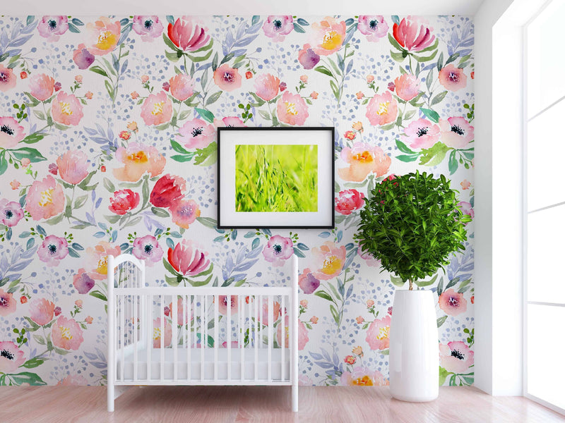 Etta Wallpaper - Project Nursery