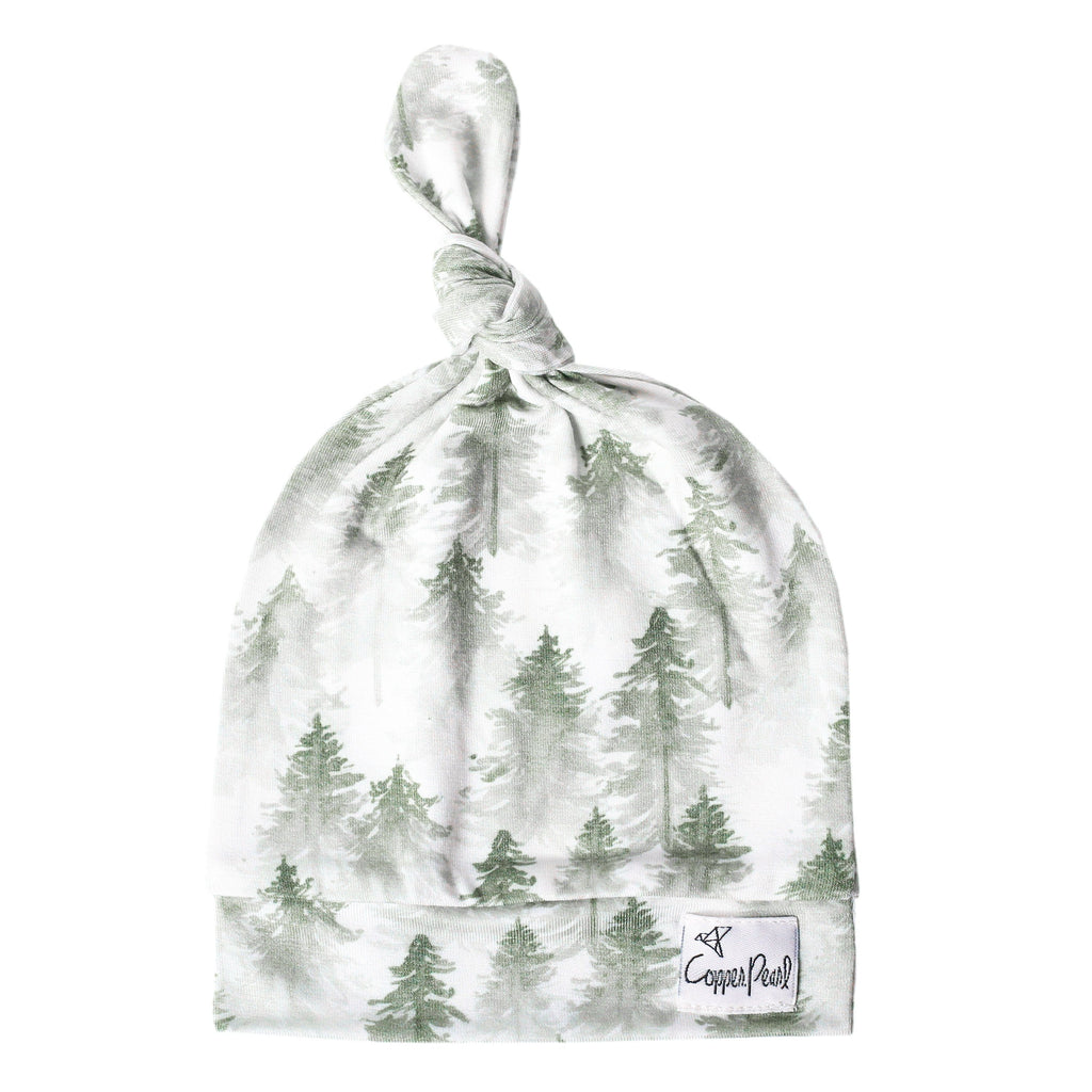 Evergreen Top Knot Hat - Project Nursery