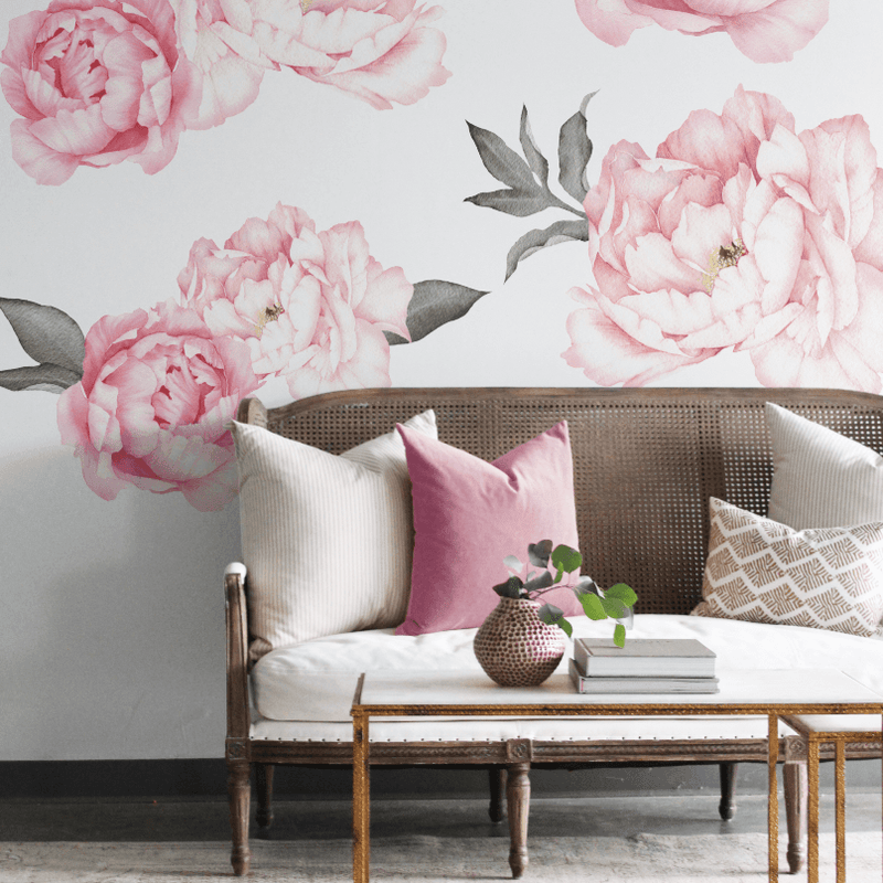 Everlasting Peonies Wall Decals - Project Nursery