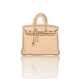 Designer Bag Wooden Teether  - The Project Nursery Shop - 1