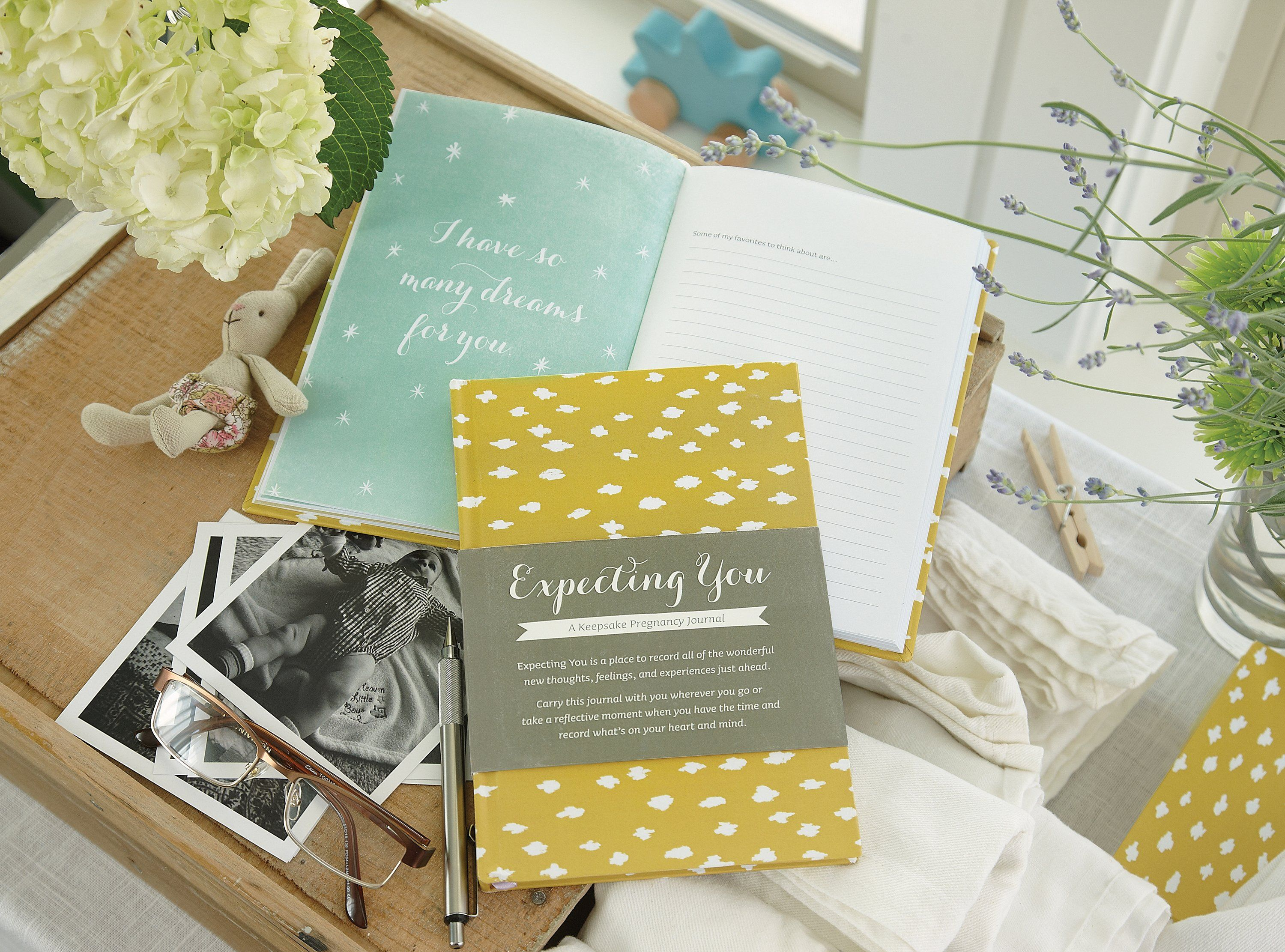 Expecting You: A Keepsake Pregnancy Journal - Project Nursery