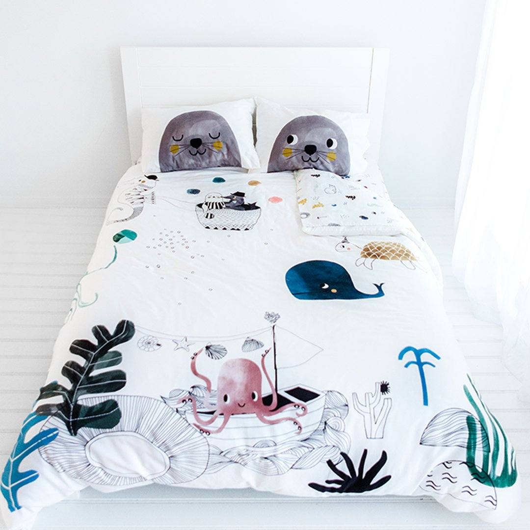 Underwater Love Bedding Set - Project Nursery