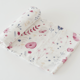 Deluxe Muslin Swaddle in Fairy Garden  - The Project Nursery Shop - 1