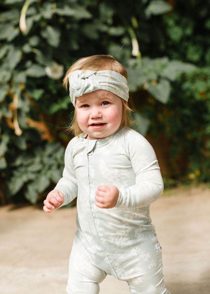 Fern Knotted Headband - Project Nursery