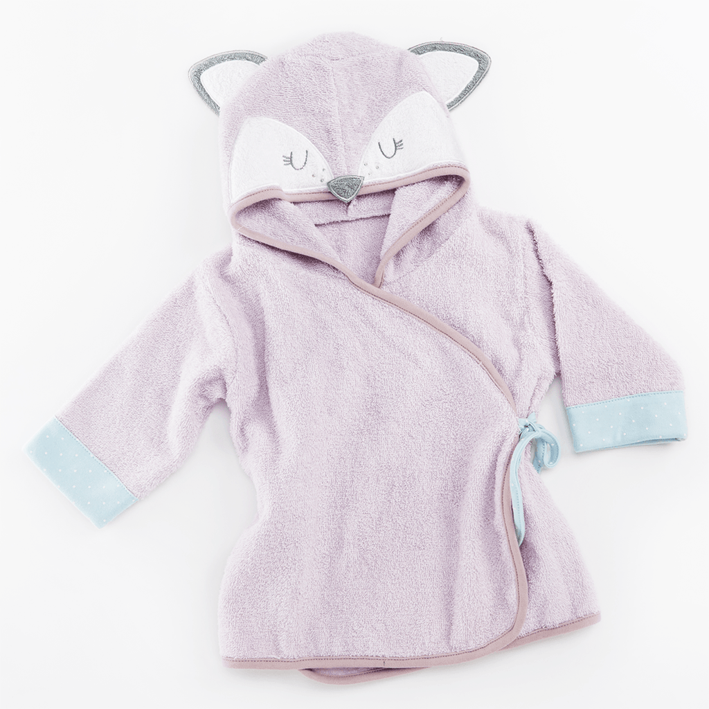 Fancy Fox Hooded Spa Robe - Project Nursery