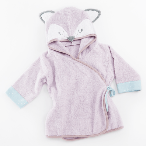 Raccoon Hooded Spa Robe