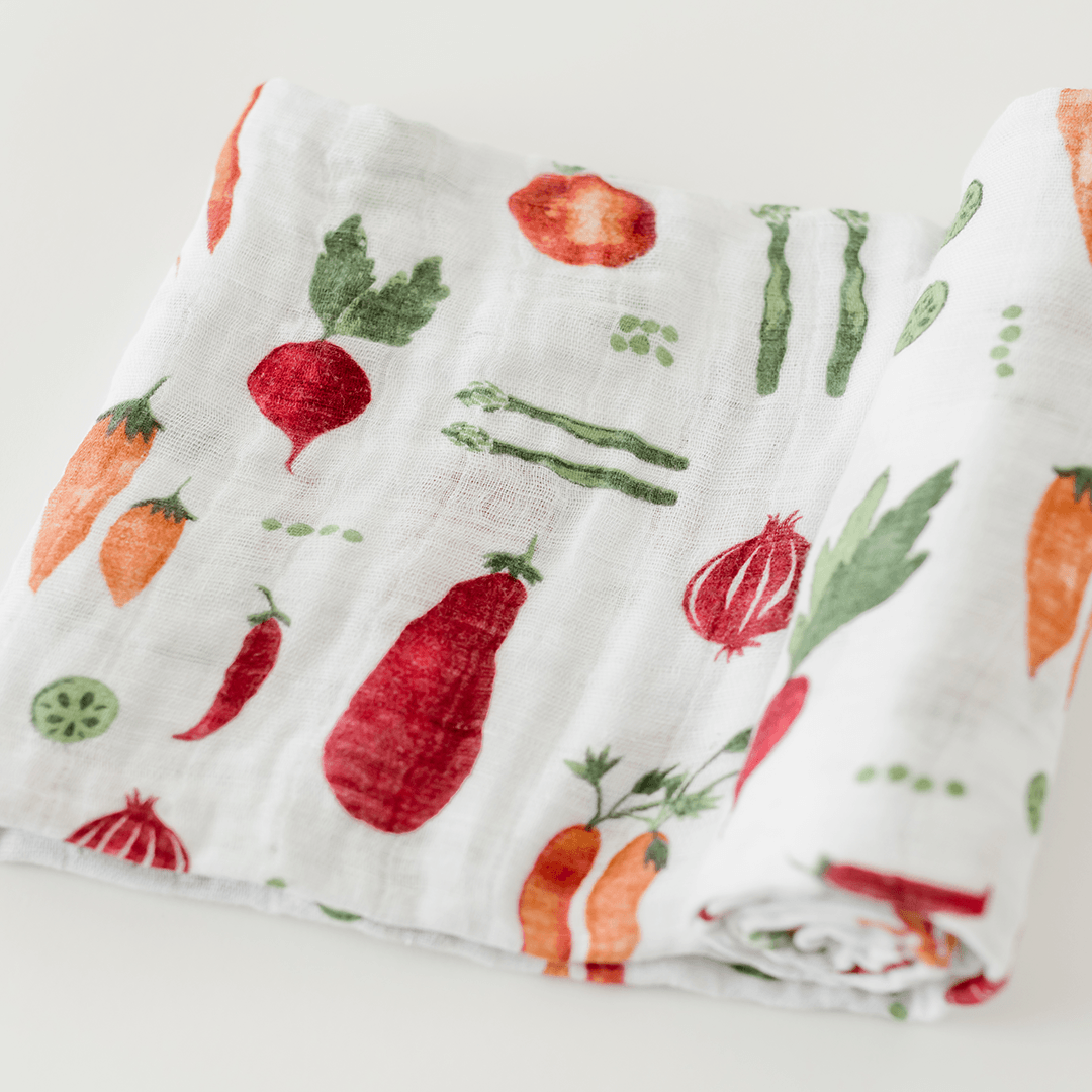 Farmers Market Swaddle - Project Nursery