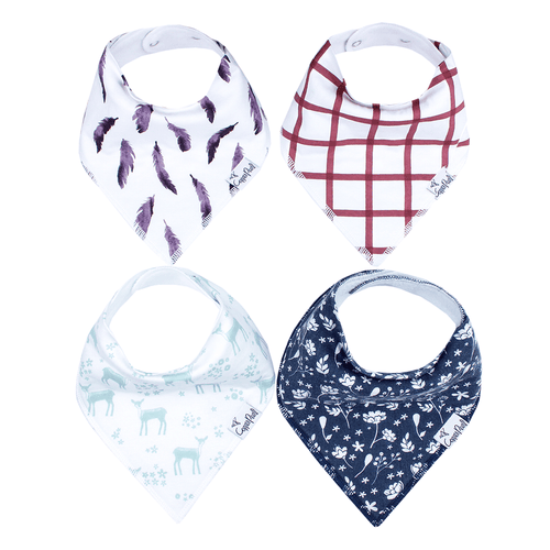 Fawn Bandana Bib Set - Project Nursery