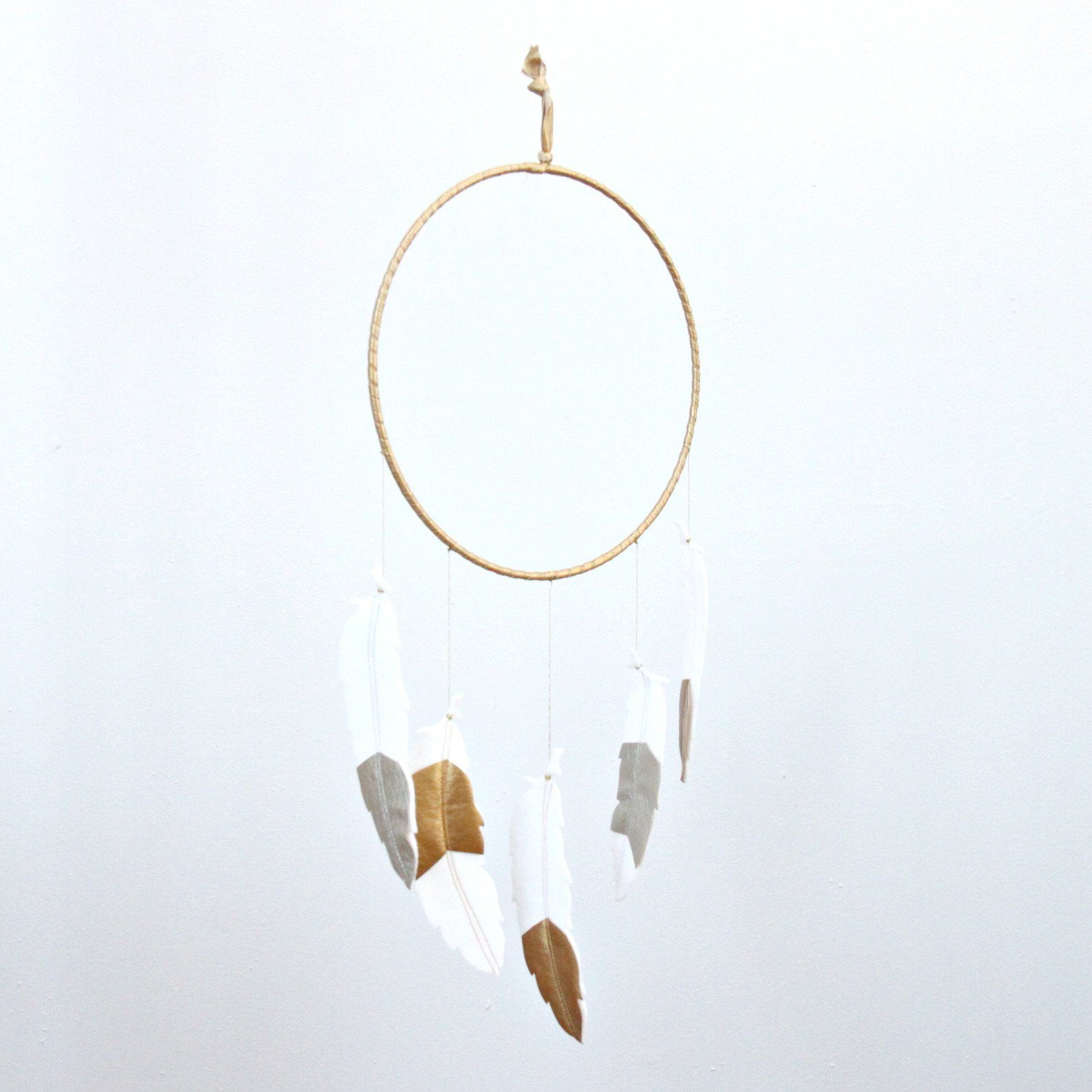 Metallic Feather Dreamer - Project Nursery
