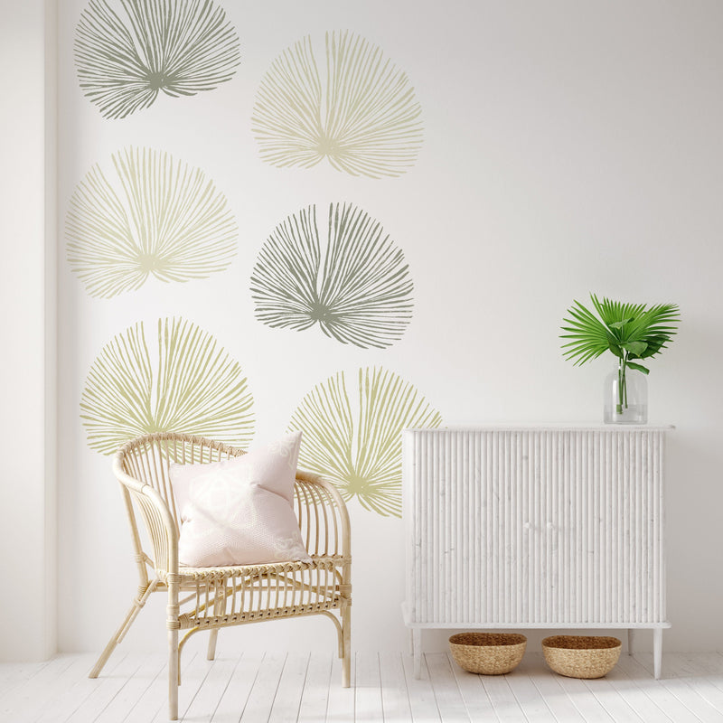 Fan Palm Wall Decal Set - Project Nursery