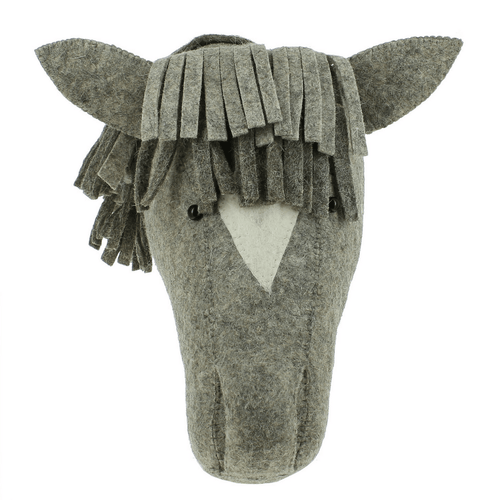 Natural Gray Horse Head - Project Nursery