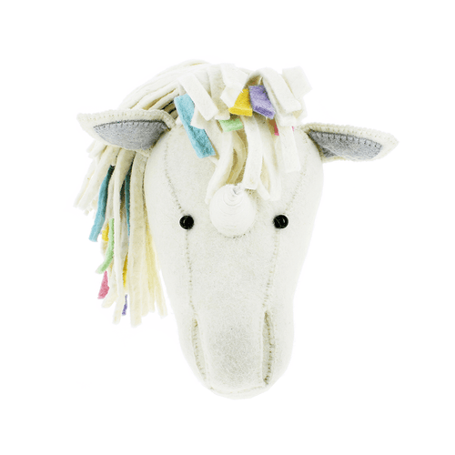 Pastel Rainbow Unicorn Head - Project Nursery