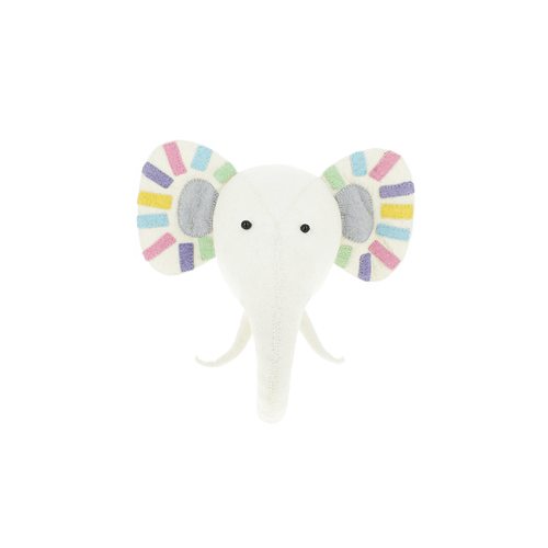 Pastel Safari Rock Elephant Semi - Project Nursery