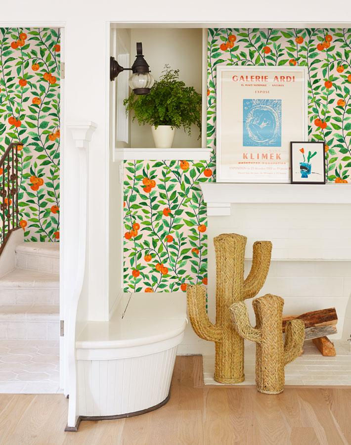Orange Crush Wallpaper - Project Nursery