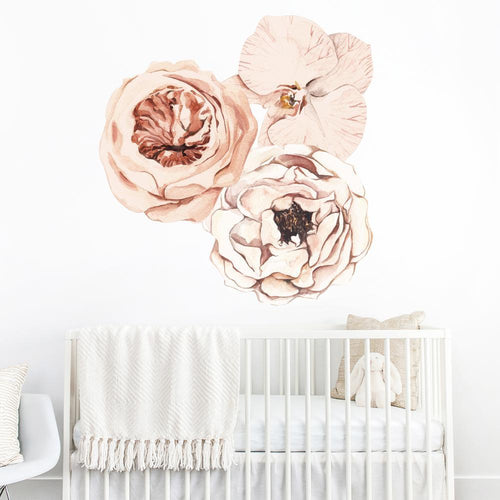 Flower Trio Wall Decal Set - Project Nursery