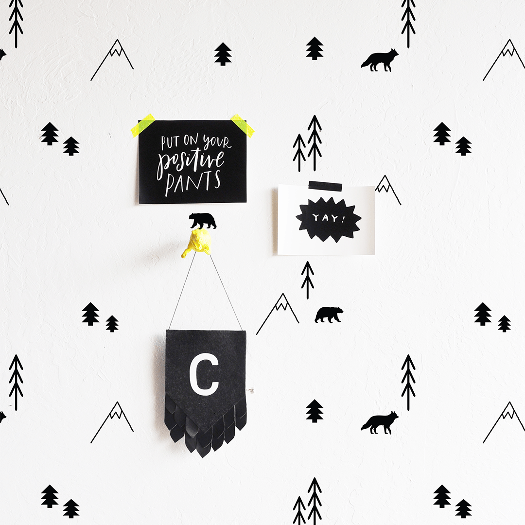 Forest Compilation Wall Decal - Project Nursery