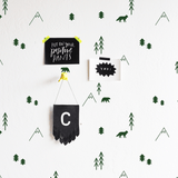 Forest Compilation Wall Decal Green - The Project Nursery Shop - 2