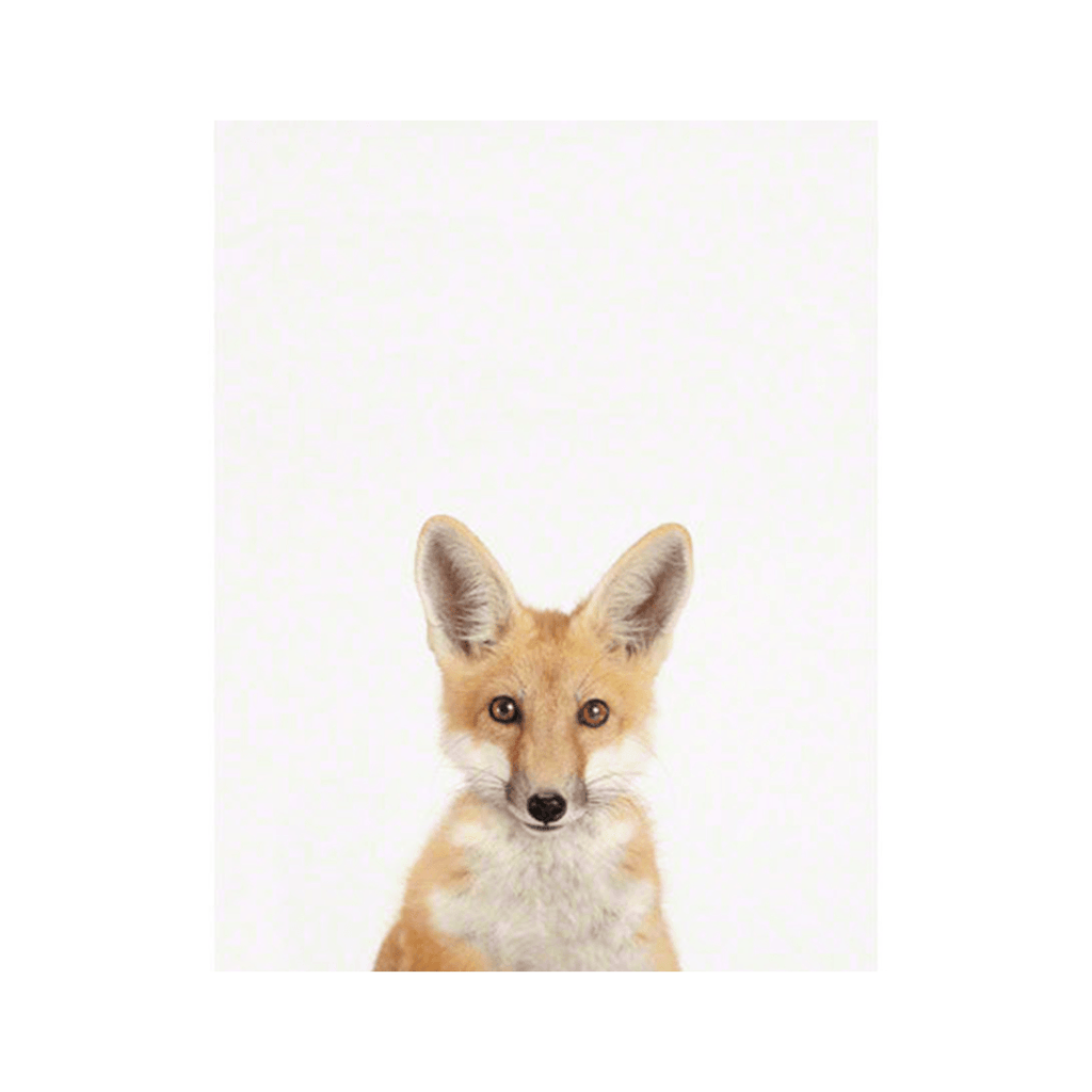 Baby Fox Little Darling Print - Project Nursery