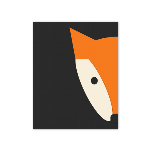 Peekaboo Fox Print - Project Nursery