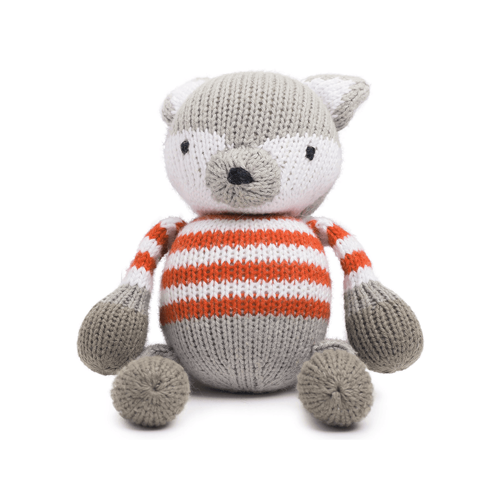 Rattle Buddy - Finley the Fox  - The Project Nursery Shop - 1