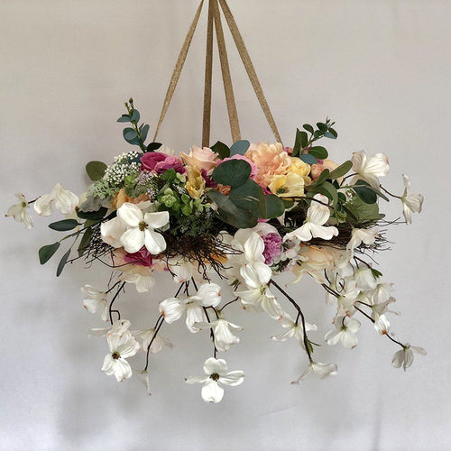 Large Floral Mobile - Fuchsia - Project Nursery
