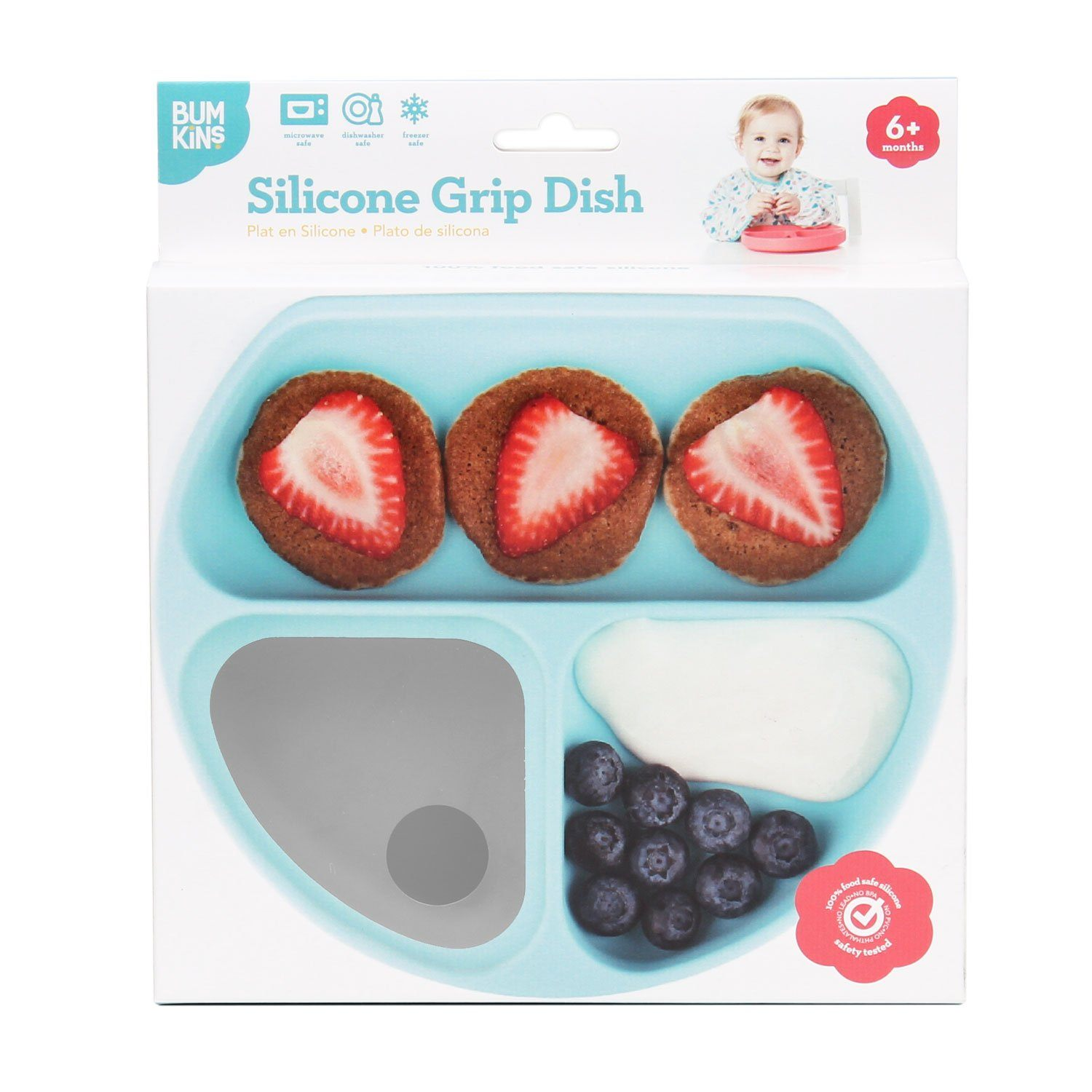 Silicone Grip Dish - Project Nursery