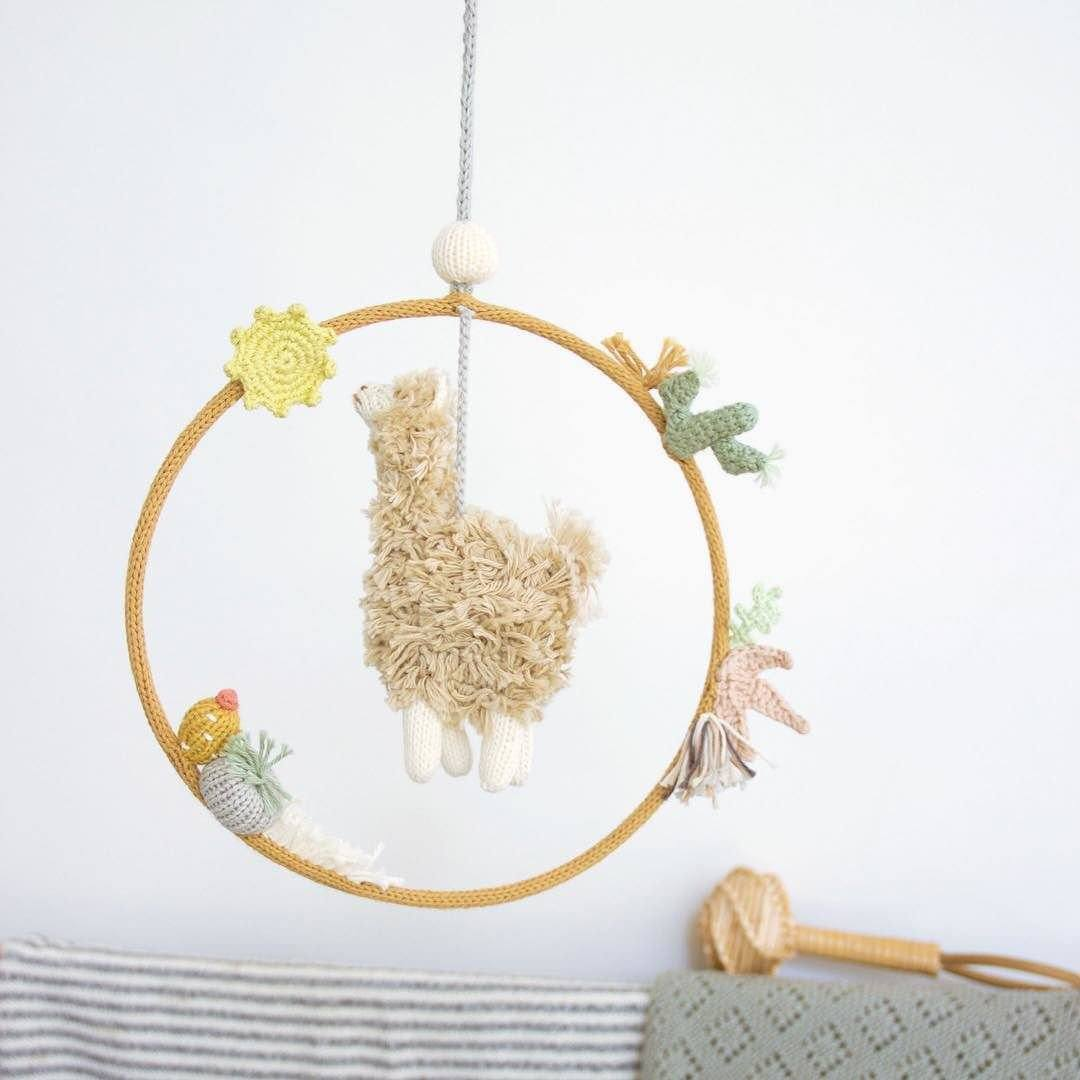 Alpaca Dream Ring Mobile - Project Nursery