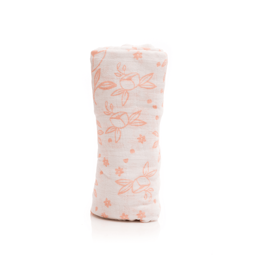 Garden Rose Swaddle  - The Project Nursery Shop - 1