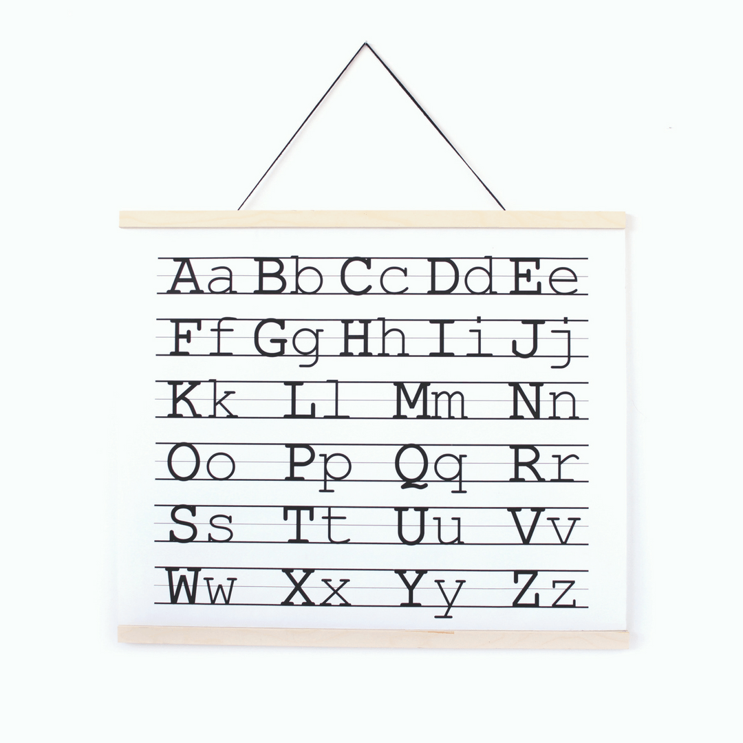 ABC Canvas Wall Hanging - Project Nursery