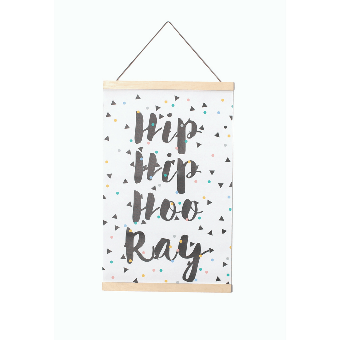 Hip Hip Canvas Wall Hanging - Project Nursery